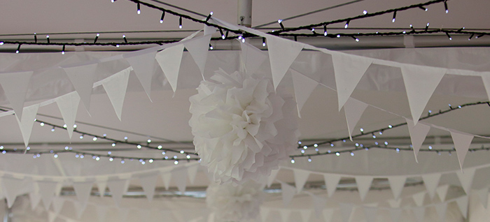 Milton Marquees - Furniture and Accessories - Festoons