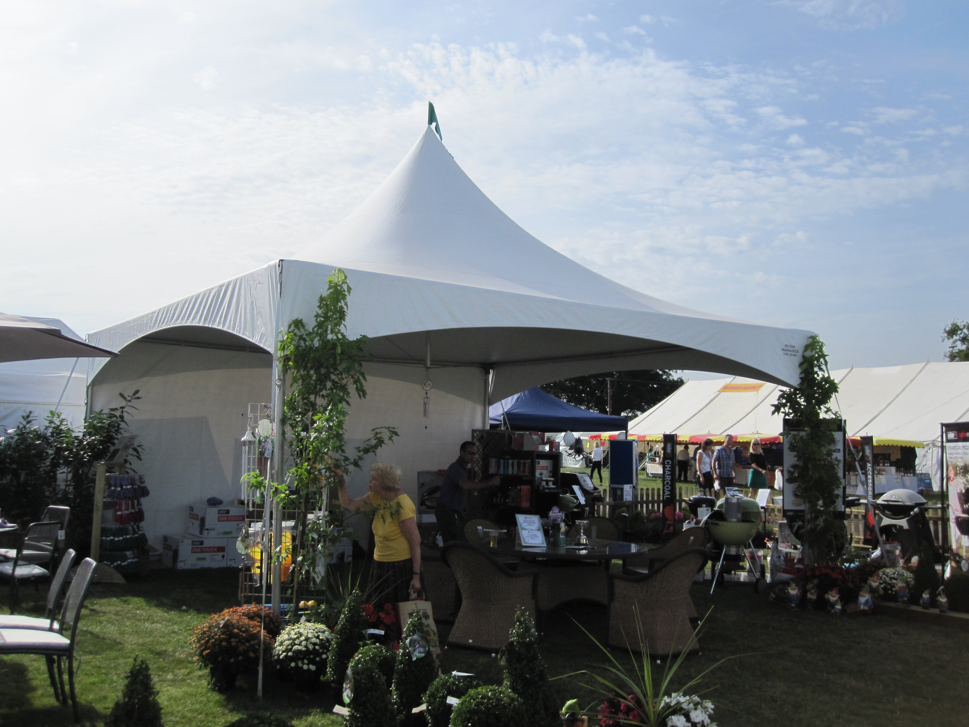 Milton Marquees - Gillingham Shaftesbury Show